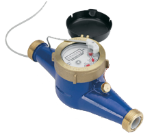 Stenner Brass Water Meter